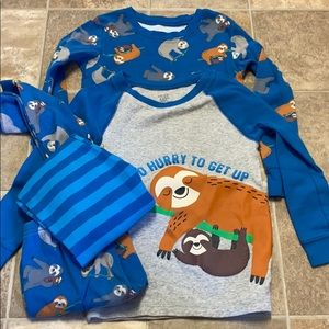 Toddler Boy 5T just one you by Carter's SnugFitPJs